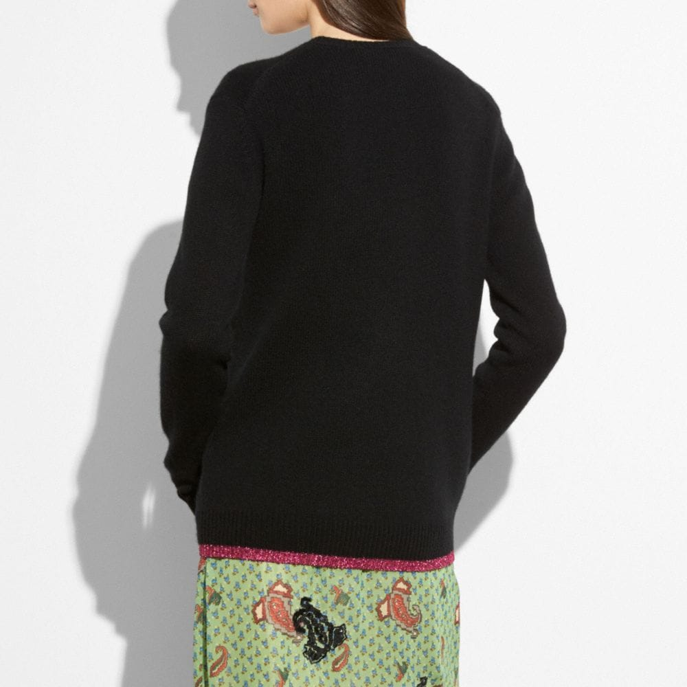 Coach Sundae Intarsia Sweater Alternate View 2