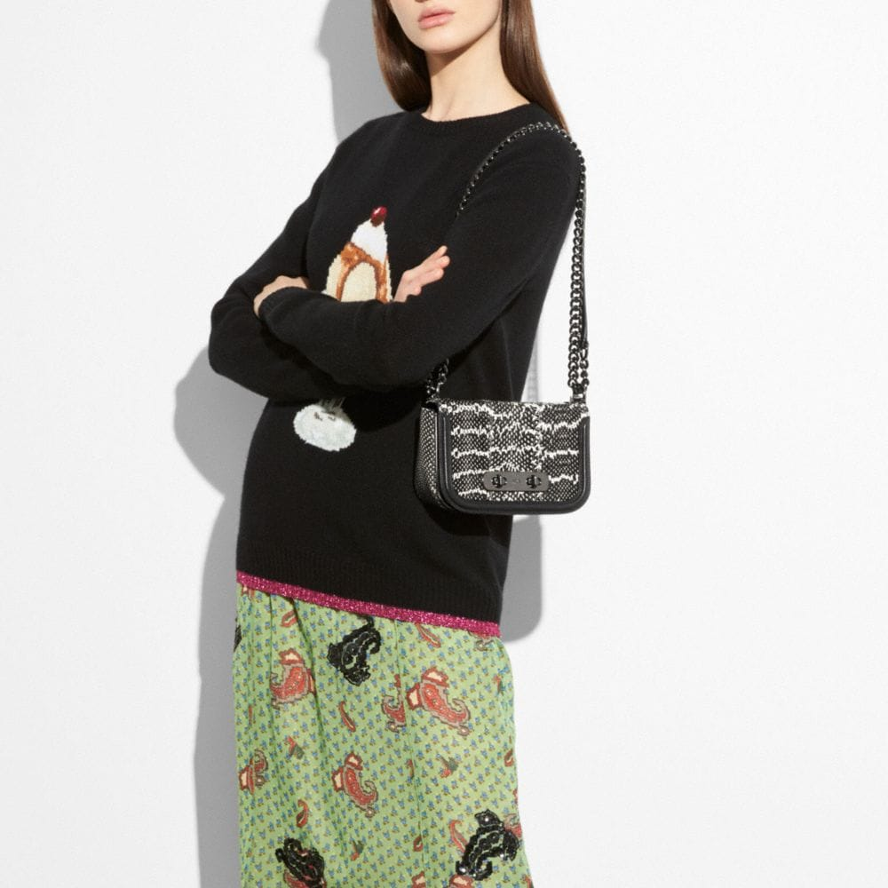 Coach Sundae Intarsia Sweater Alternate View 3