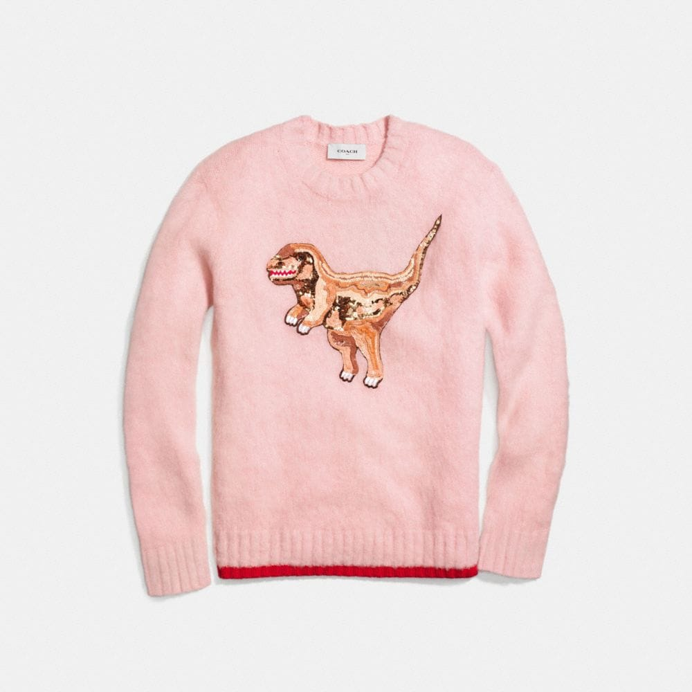 Coach Rexy Crewneck Sweater Alternate View 1