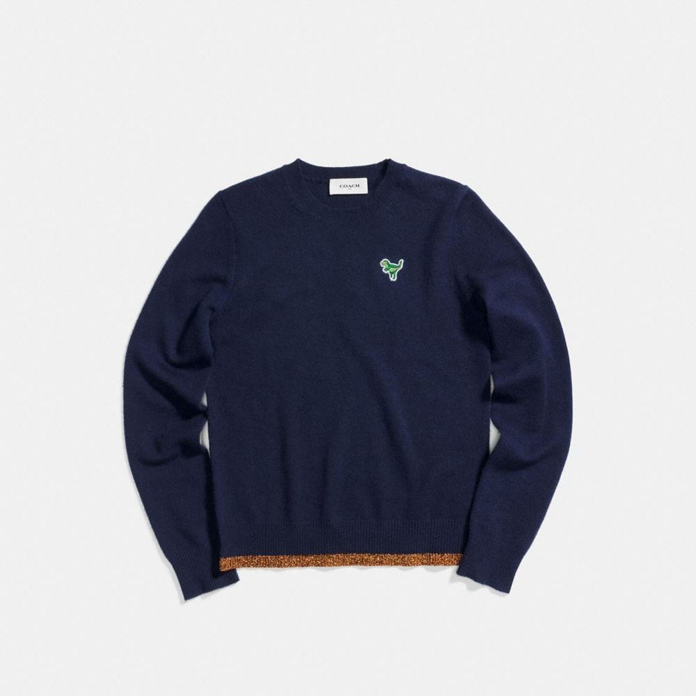 Coach Crewneck Sweater Alternate View 1