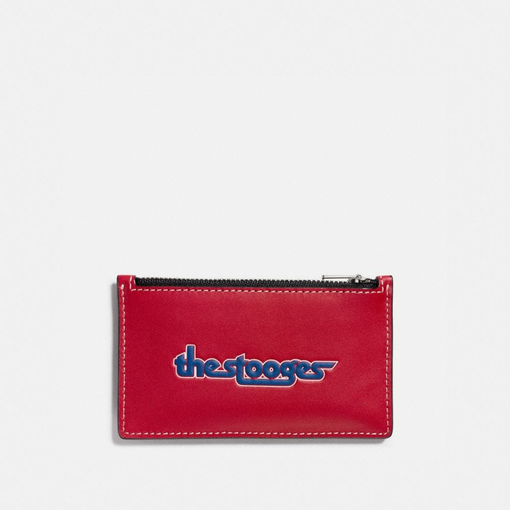 Coach Zip Card Case With the Stooges