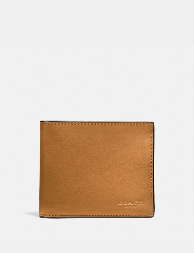Coach 3-In-1 Wallet Caramel SALE Men's Sale Bestsellers