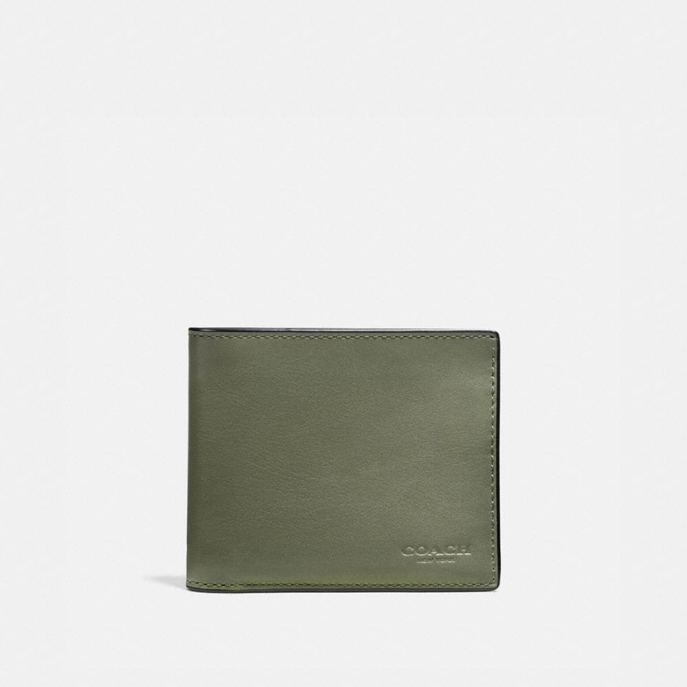 3-IN-1 WALLET IN BURNISHED SPORT CALF LEATHER