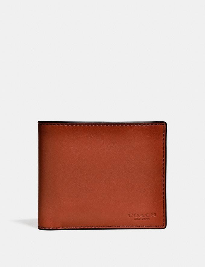 Coach 3-In-1 Wallet Rust Men Wallets