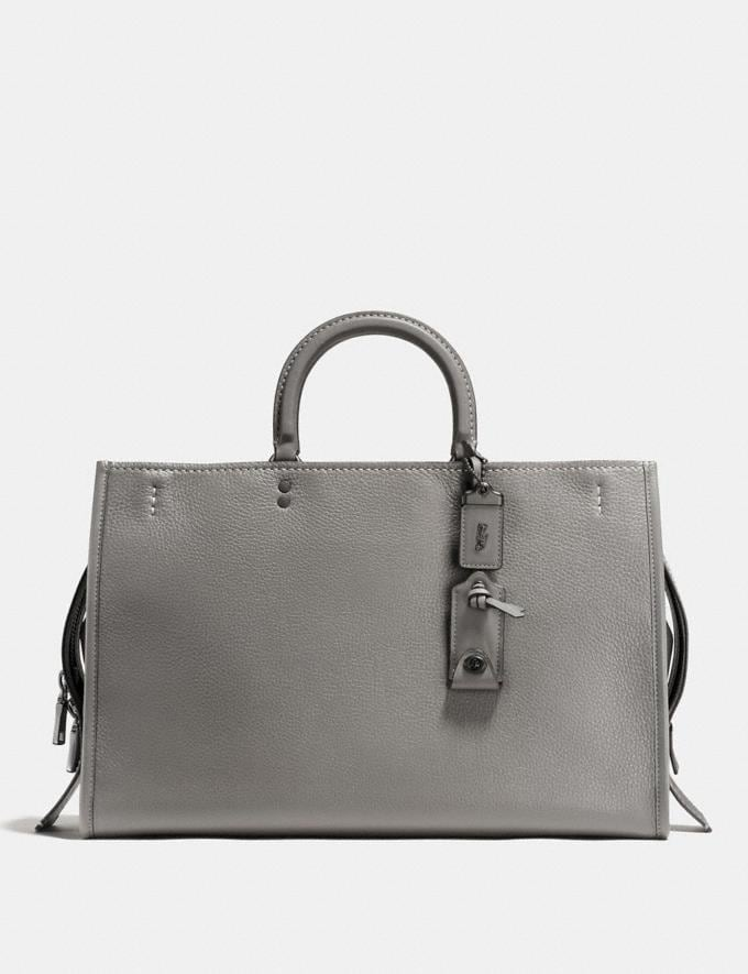 Coach Rogue 39 Heather Grey/Black Copper