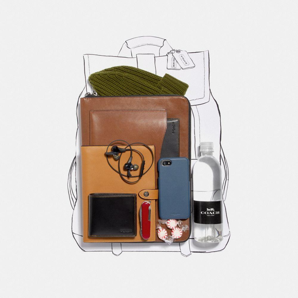 Coach Bleecker Backpack With Wild Beast Print Alternate View 4