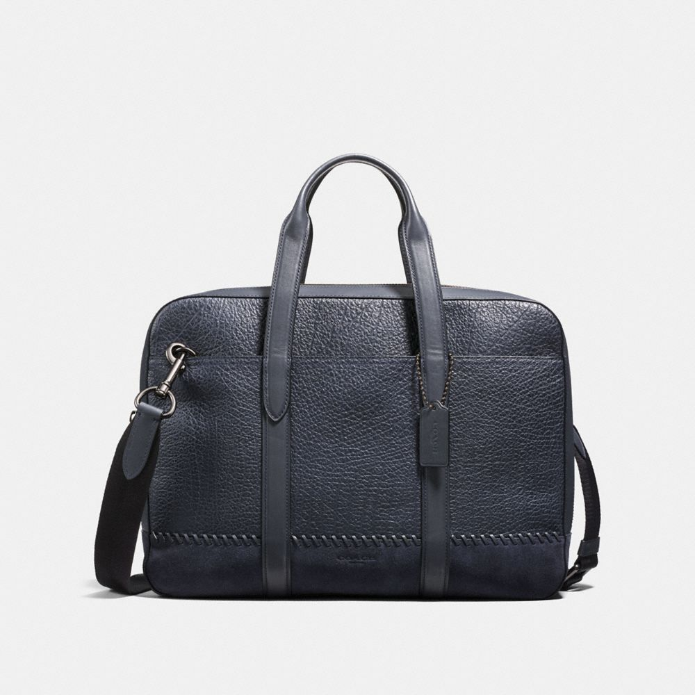 Coach Metropolitan Soft Brief With Baseball Stitch