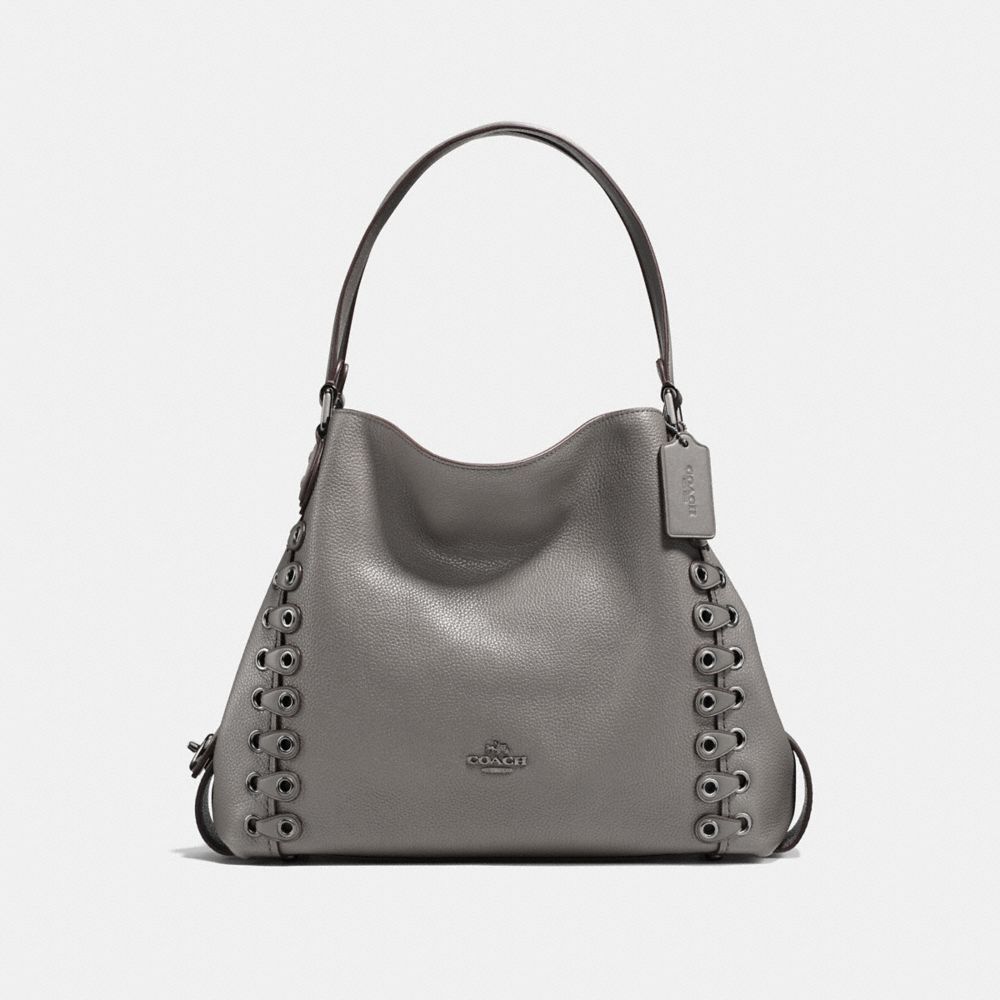 EDIE SHOULDER BAG 31 WITH COACH LINK DETAIL