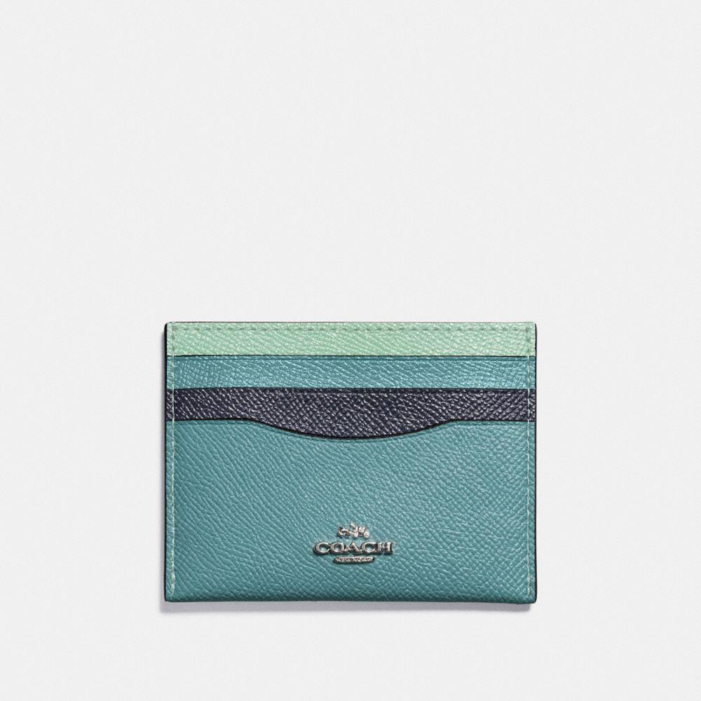 CARD CASE IN COLORBLOCK