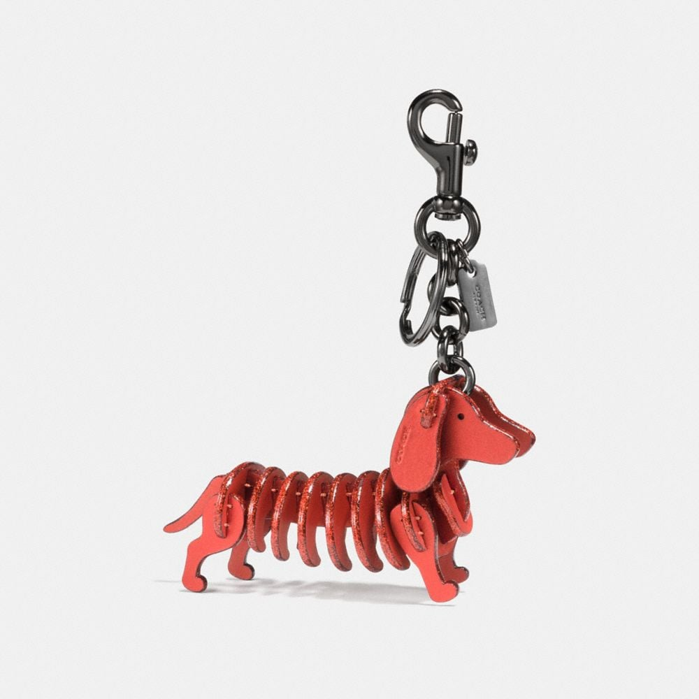 Coach Small Dog Bag Charm