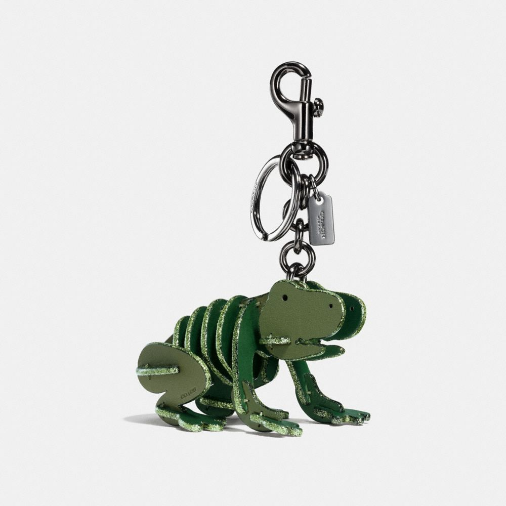 Coach Small Froggy Puzzle Bag Charm