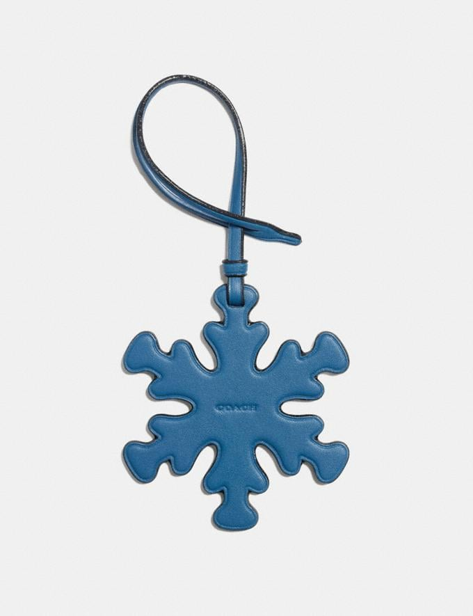 Coach Snowflake Ornament Blue SALE Women's Sale Accessories