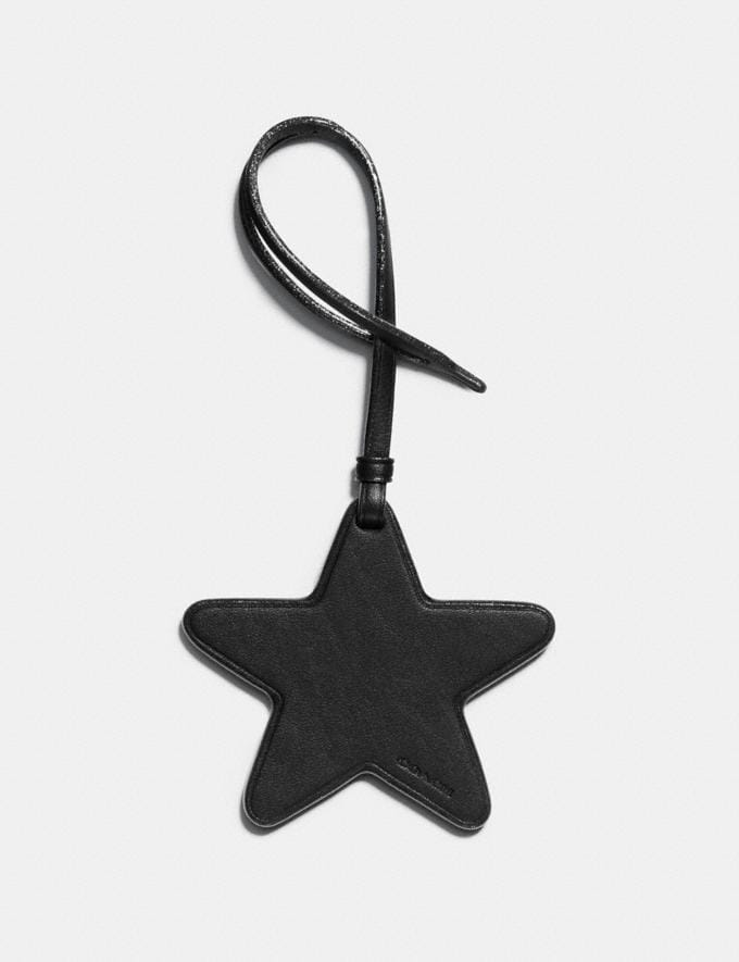 Coach Star Ornament Black Women Accessories Bag Charms & Key Rings