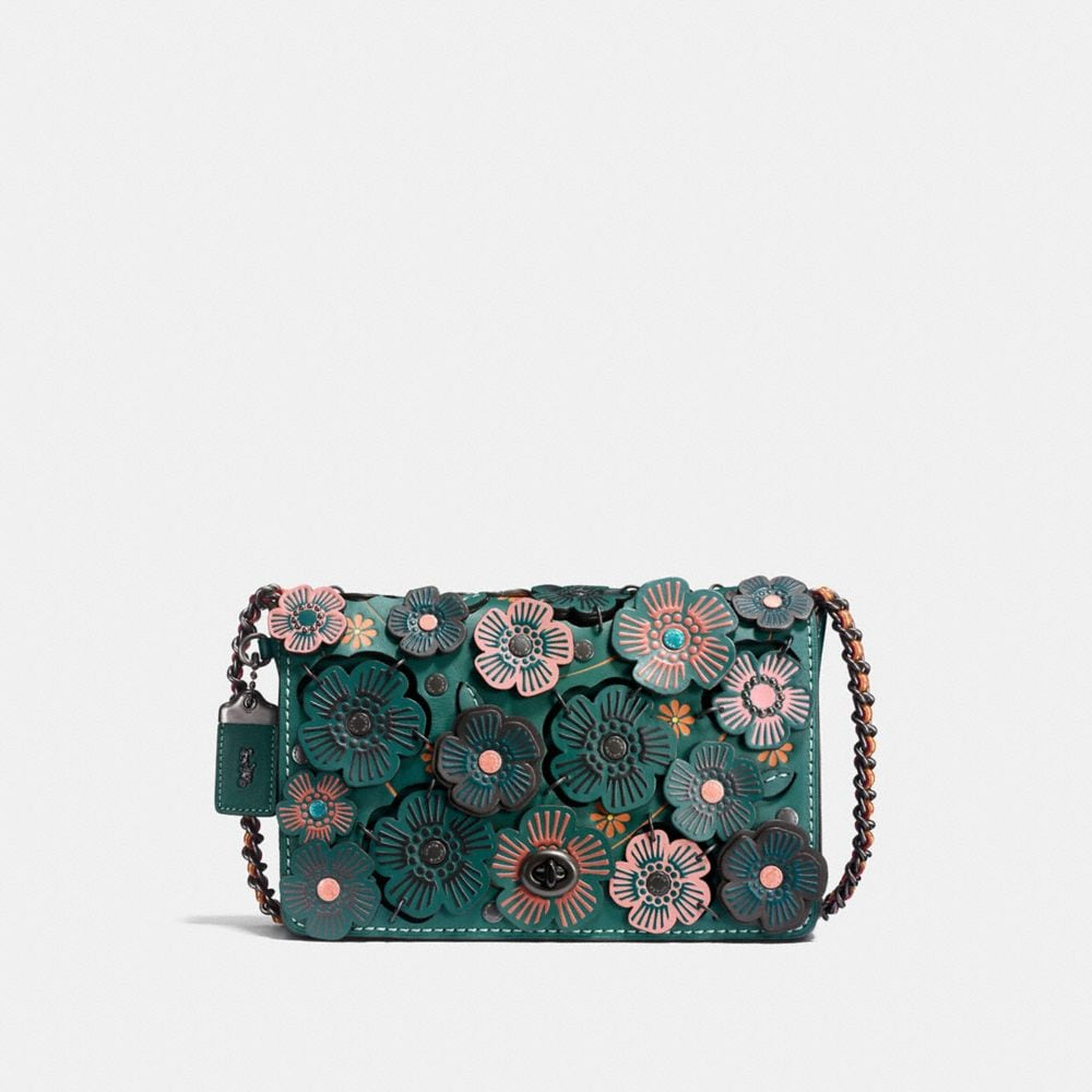 Coach Dinky 24 With Linked Tea Rose