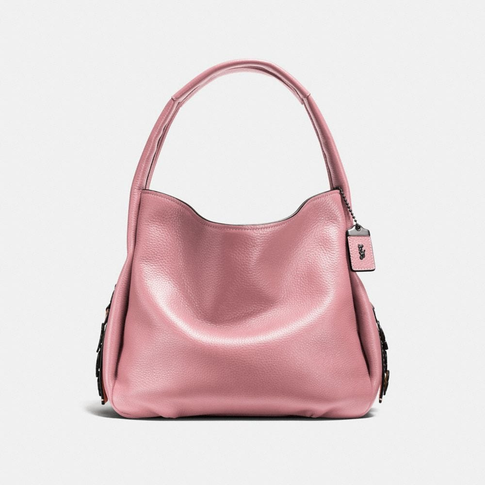 Coach Bandit Hobo With Tea Rose Detail