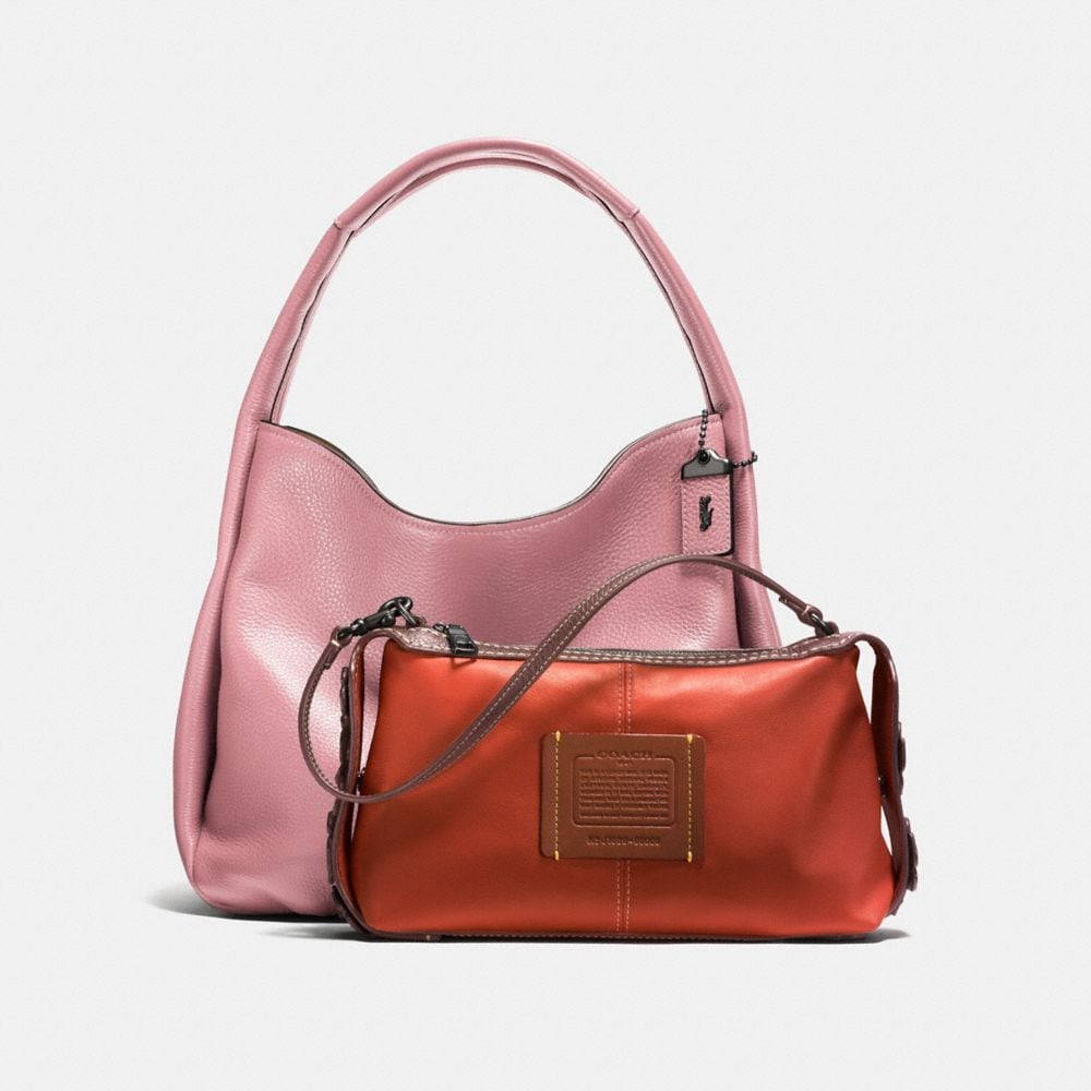 Coach Bandit Hobo With Tea Rose Detail Alternate View 1