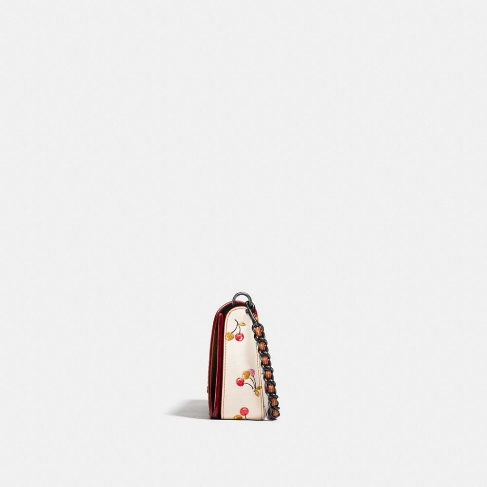 Coach Dinky With Cherry Print Alternate View 1