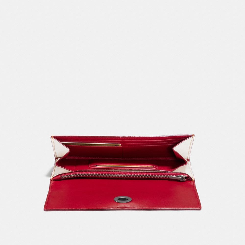 Coach Envelope Wallet With Cherry Print Alternate View 1
