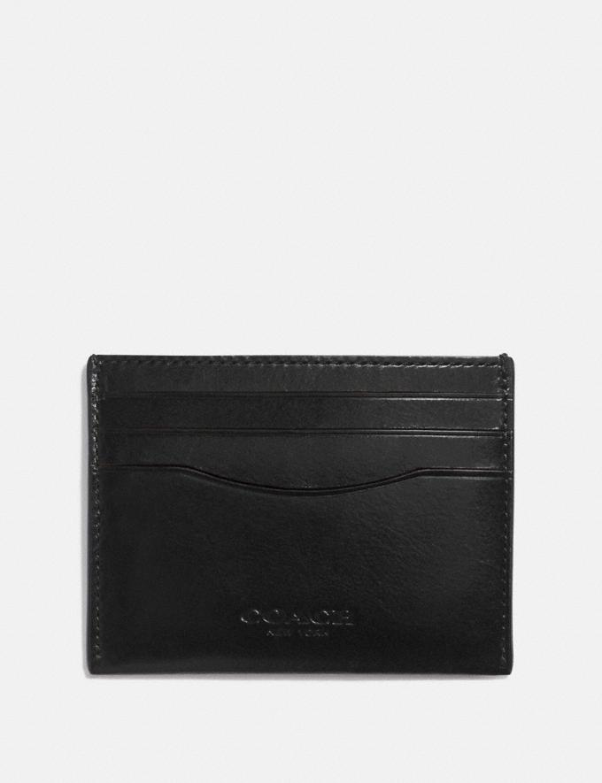 Coach Card Case Black 30% off Select Full-Price Styles