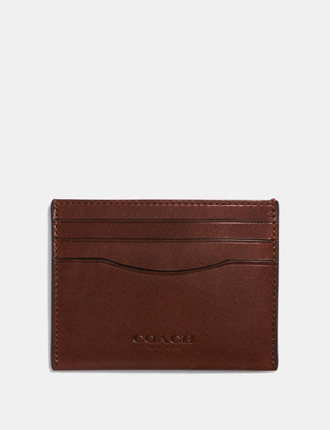Coach Card Case Mahogany Women Wallet Guide