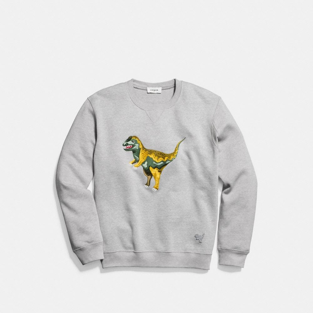 Coach Rexy Intarsia Sweatshirt Alternate View 1