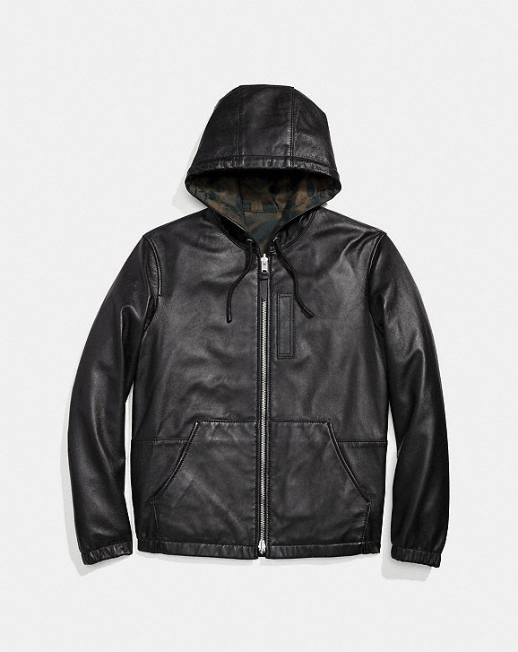 Coach Hooded Zip Jacket