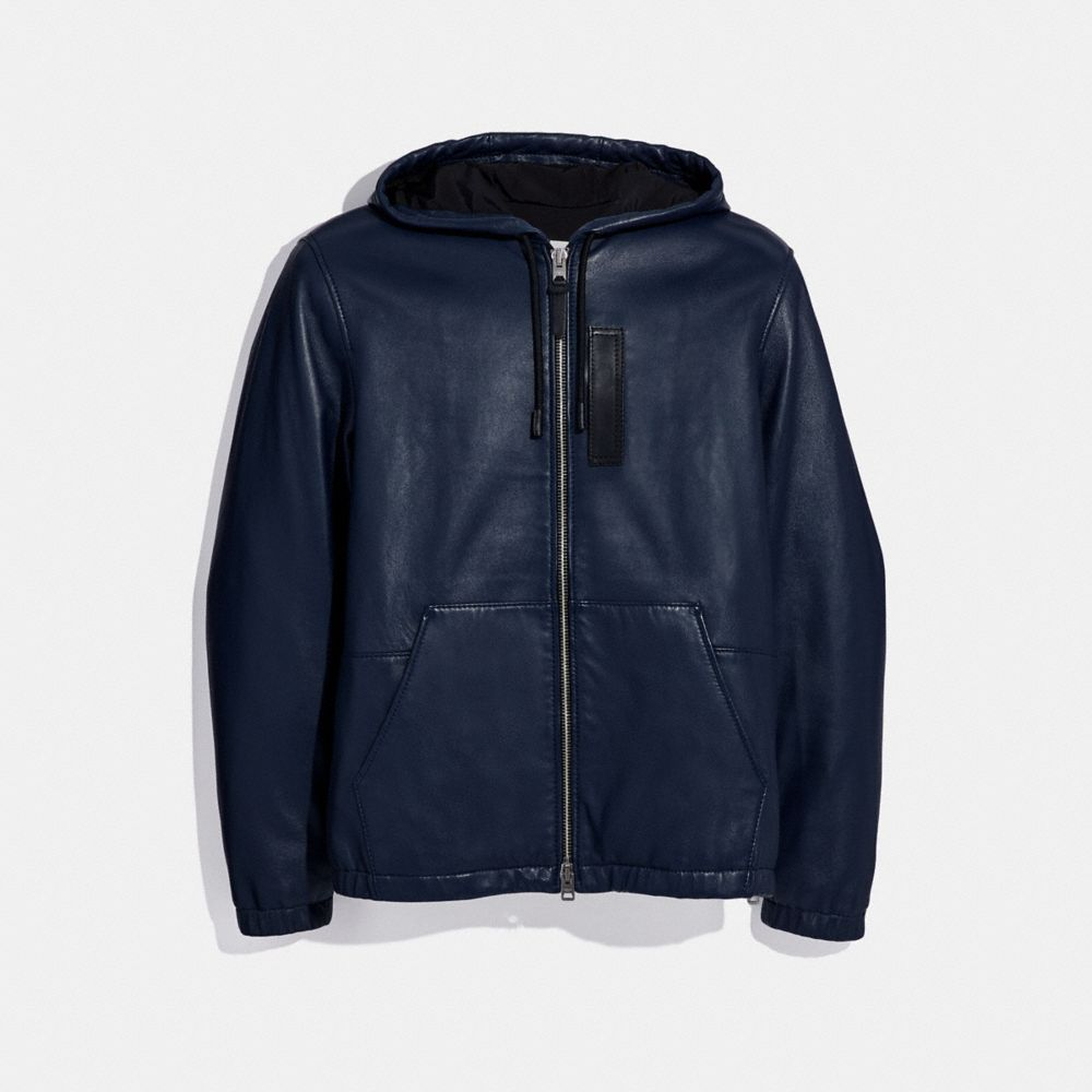 Coach Hooded Leather Trainer