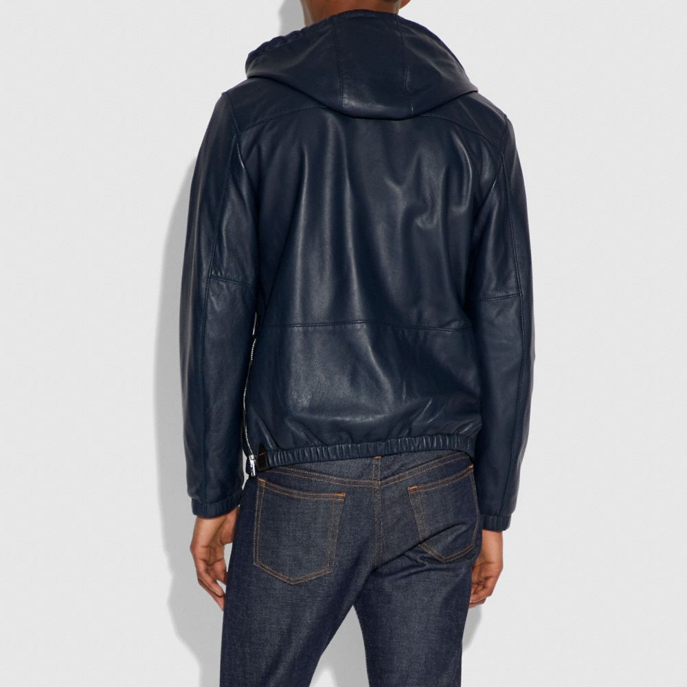 Coach Hooded Leather Trainer Alternate View 3