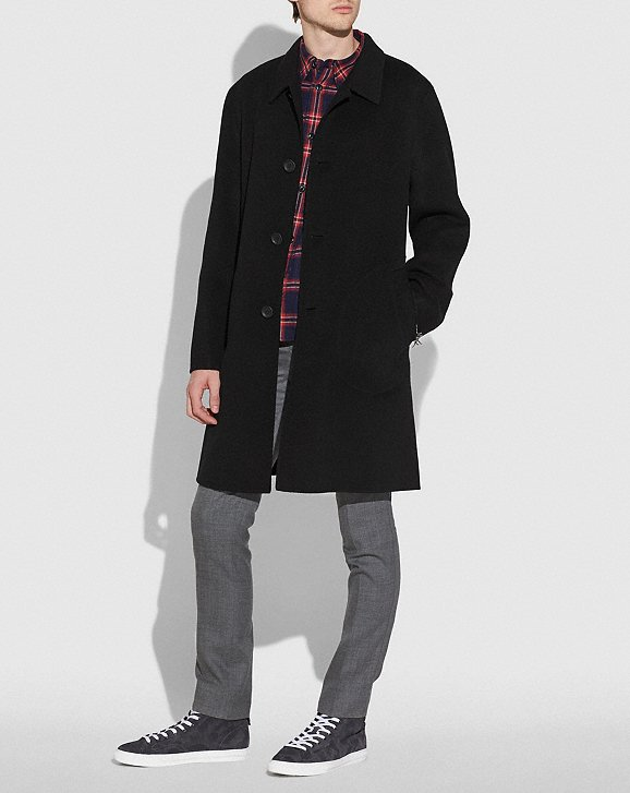 Coach Double Faced Coat