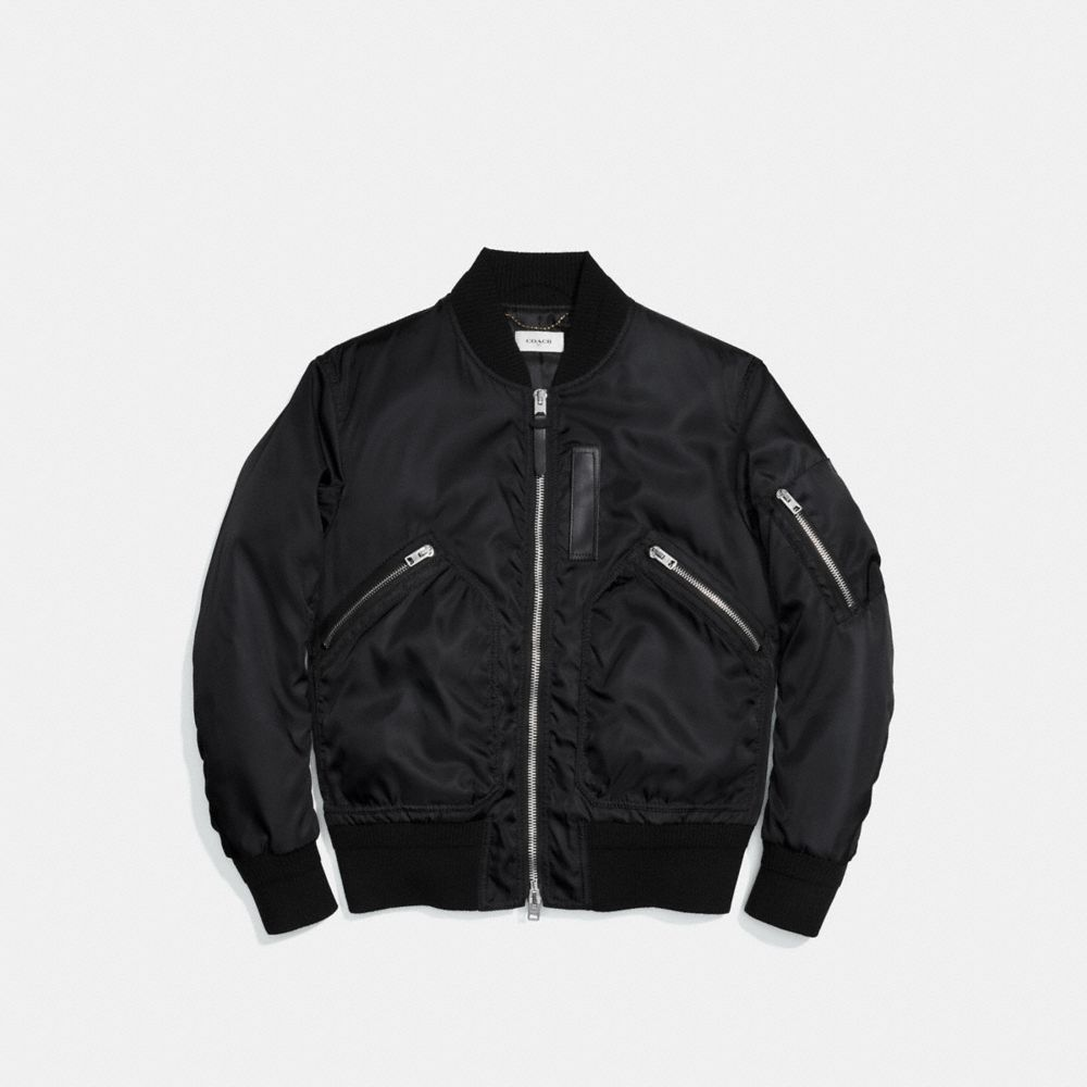 Coach Ma-1 Jacket Alternate View 1