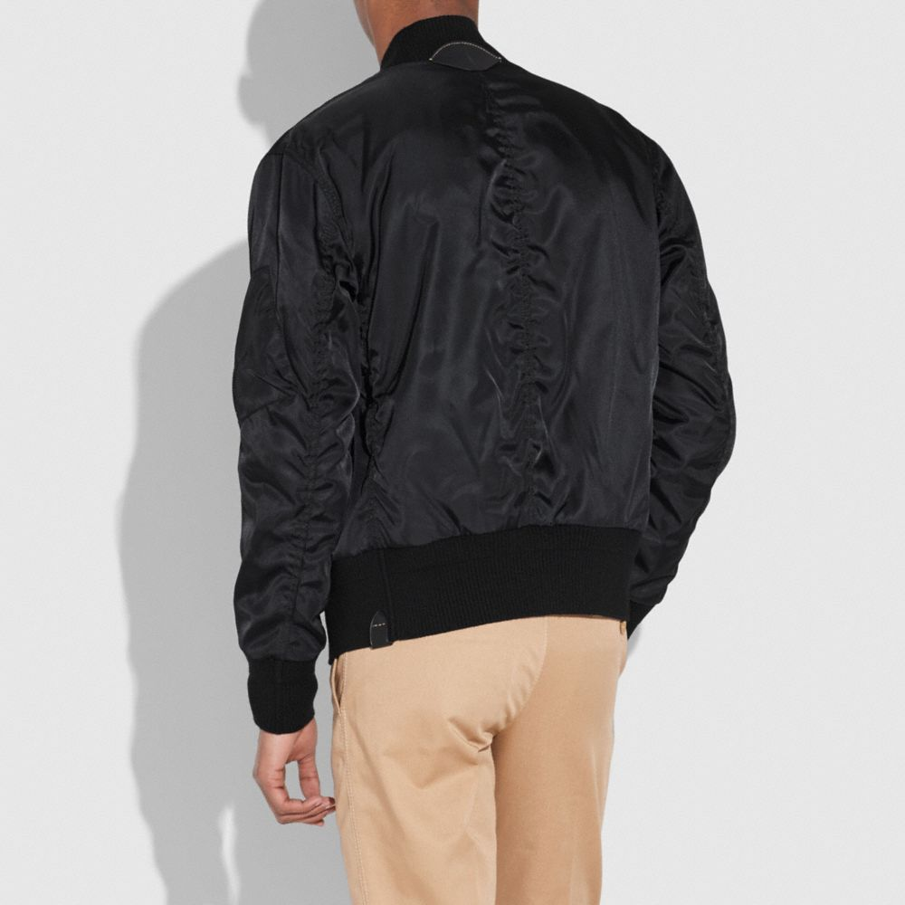 Coach Ma-1 Jacket Alternate View 2