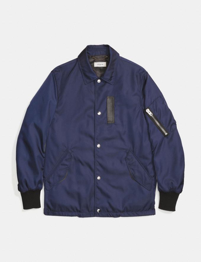 Coach Coach'S Jacket Darkest Navy SALE Men's Sale Ready-to-Wear