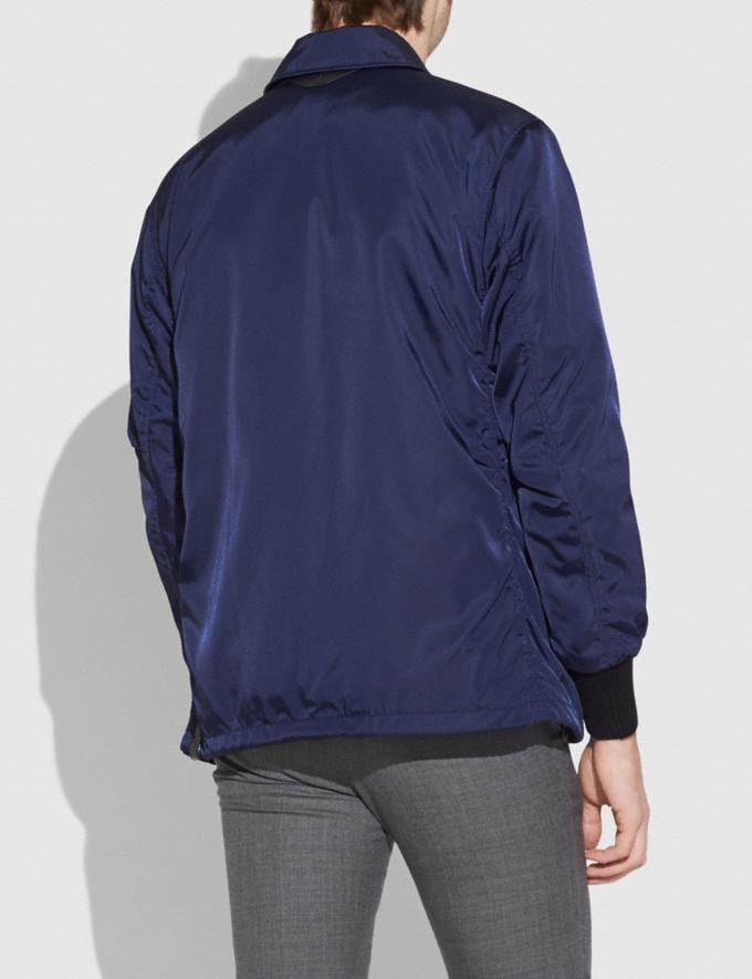 Coach Coach'S Jacket Darkest Navy SALE Men's Sale Ready-to-Wear Alternate View 2