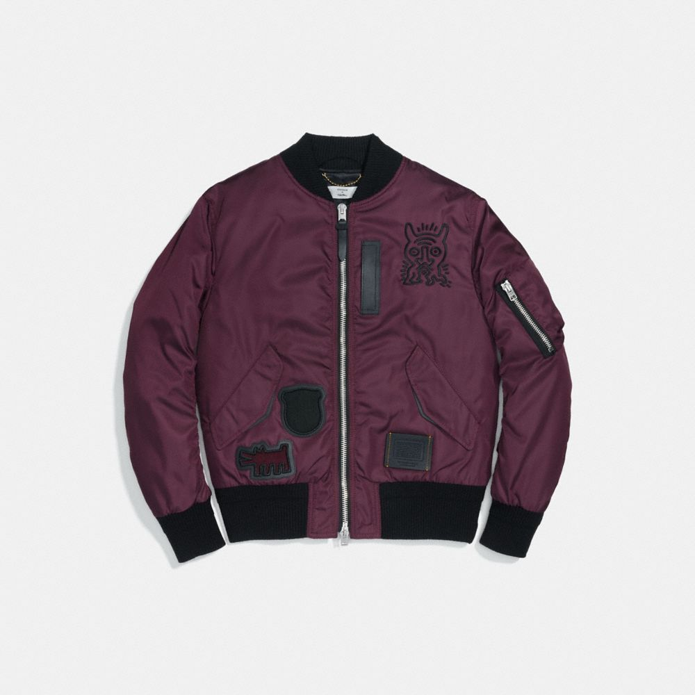 COACH X KEITH HARING MA-1 JACKET