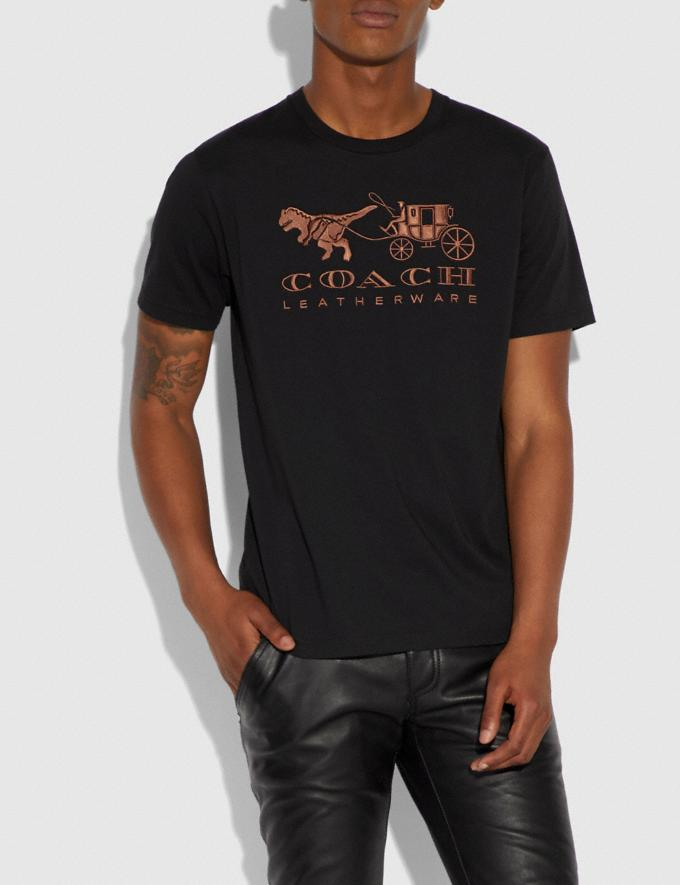 Coach Rexy and Carriage T-Shirt Black  Alternate View 1