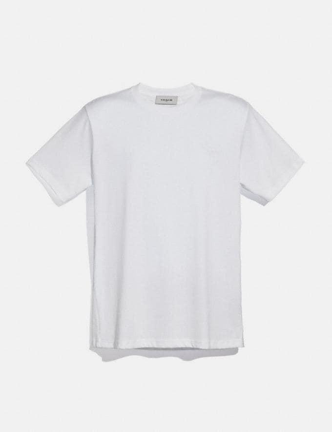 Coach Rexy Patch T-Shirt Optic White VIP SALE Men's Sale Ready-to-Wear