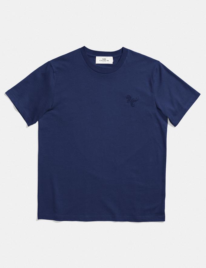 Coach Rexy Patch T-Shirt Royal
