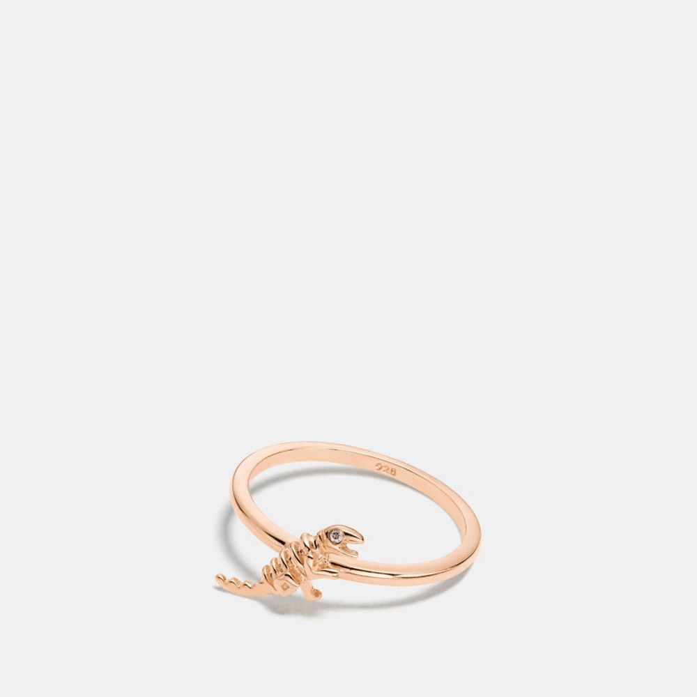 Coach Mini Demi-Fine Rexy Ring