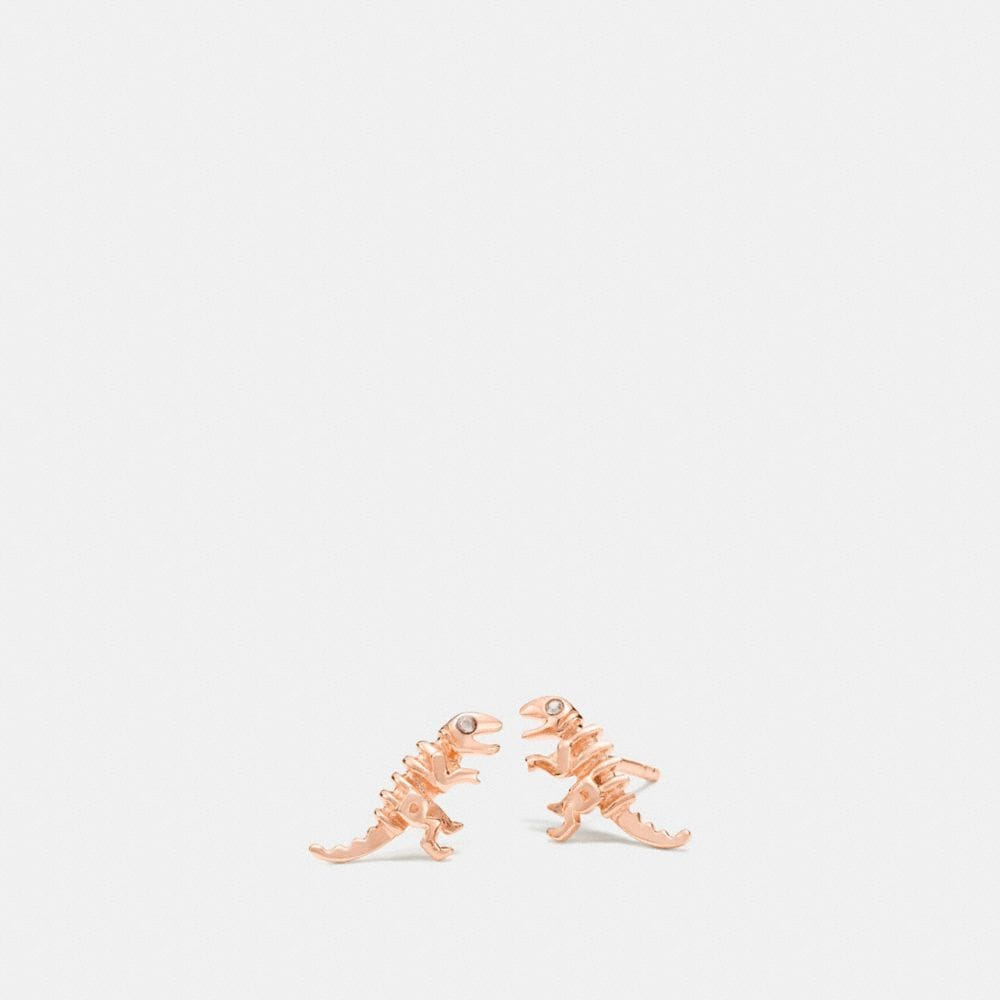 Coach Mini Demi-Fine Rexy Stud Earrings