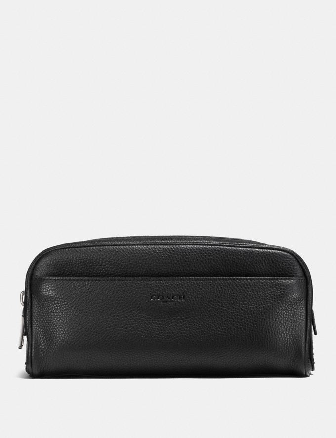 Coach Dopp Kit Black SUMMER SALE Sale Edits New to Sale New to Sale