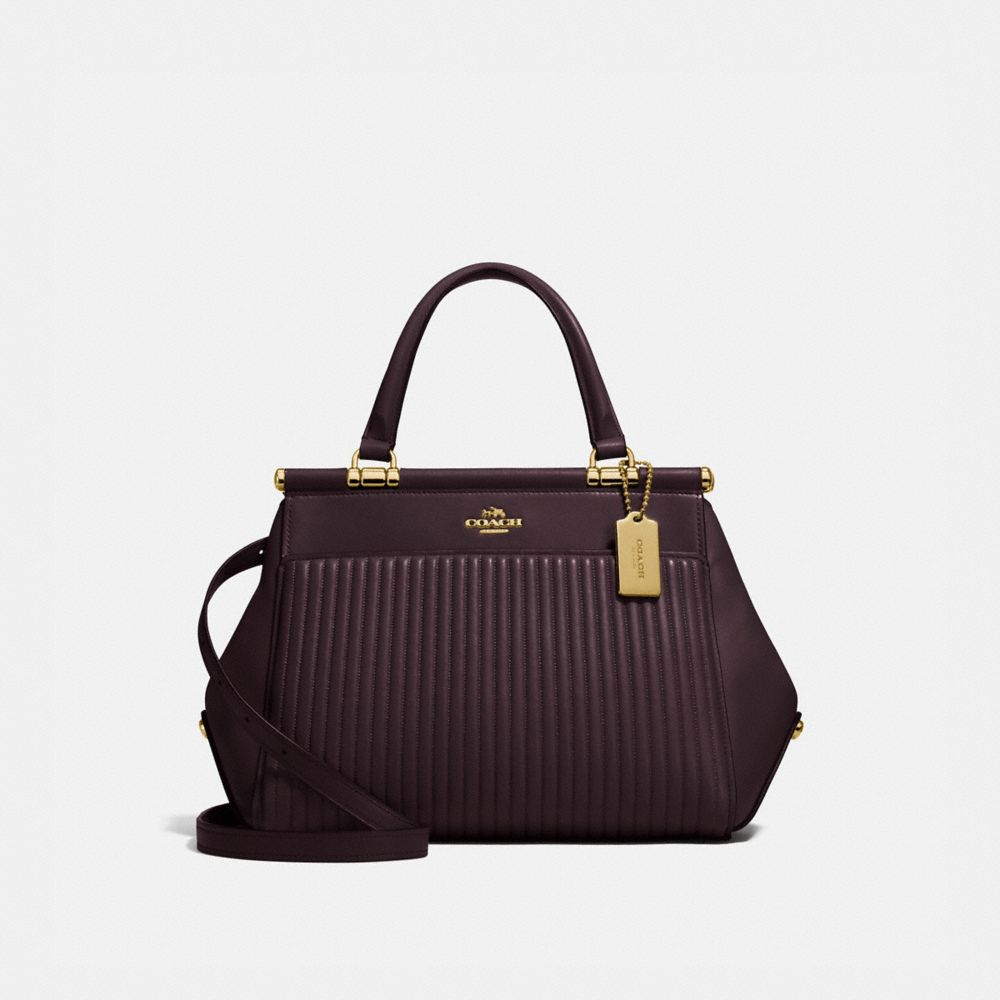 Coach Grace Bag With Quilting