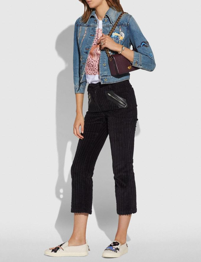 Coach Dinky With Quilting Black Copper/Heather Grey New Featured Featured Coach and i-D: Style A-to-Zs Alternate View 4