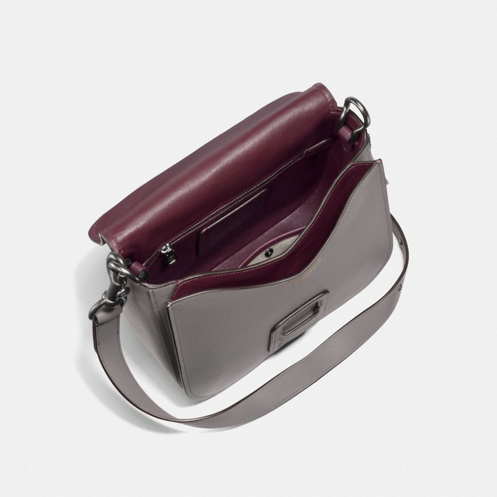 Coach Coach & Rodarte Courier Bag With Leather Sequins Alternate View 2