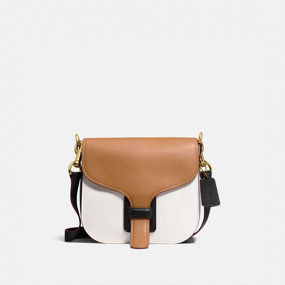 COACH & RODARTE COURIER BAG IN COLORBLOCK