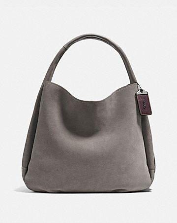 Cost Sale Fashion Style Hobo Bags - Border Rivets Duffle Bag Black - black - Hobo Bags for ladies Coach PZ4lWszHt