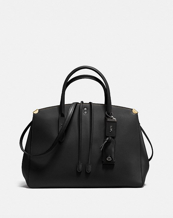 Tote - Glovetanned Leather Cooper Carryall Black - black - Tote for ladies Coach 2mvl2Oagd