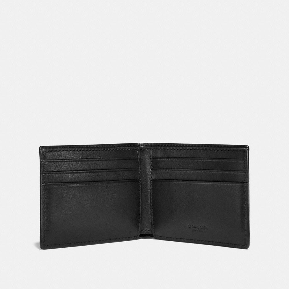 Coach Slim Billfold Wallet With Wild Beast Print Alternate View 1
