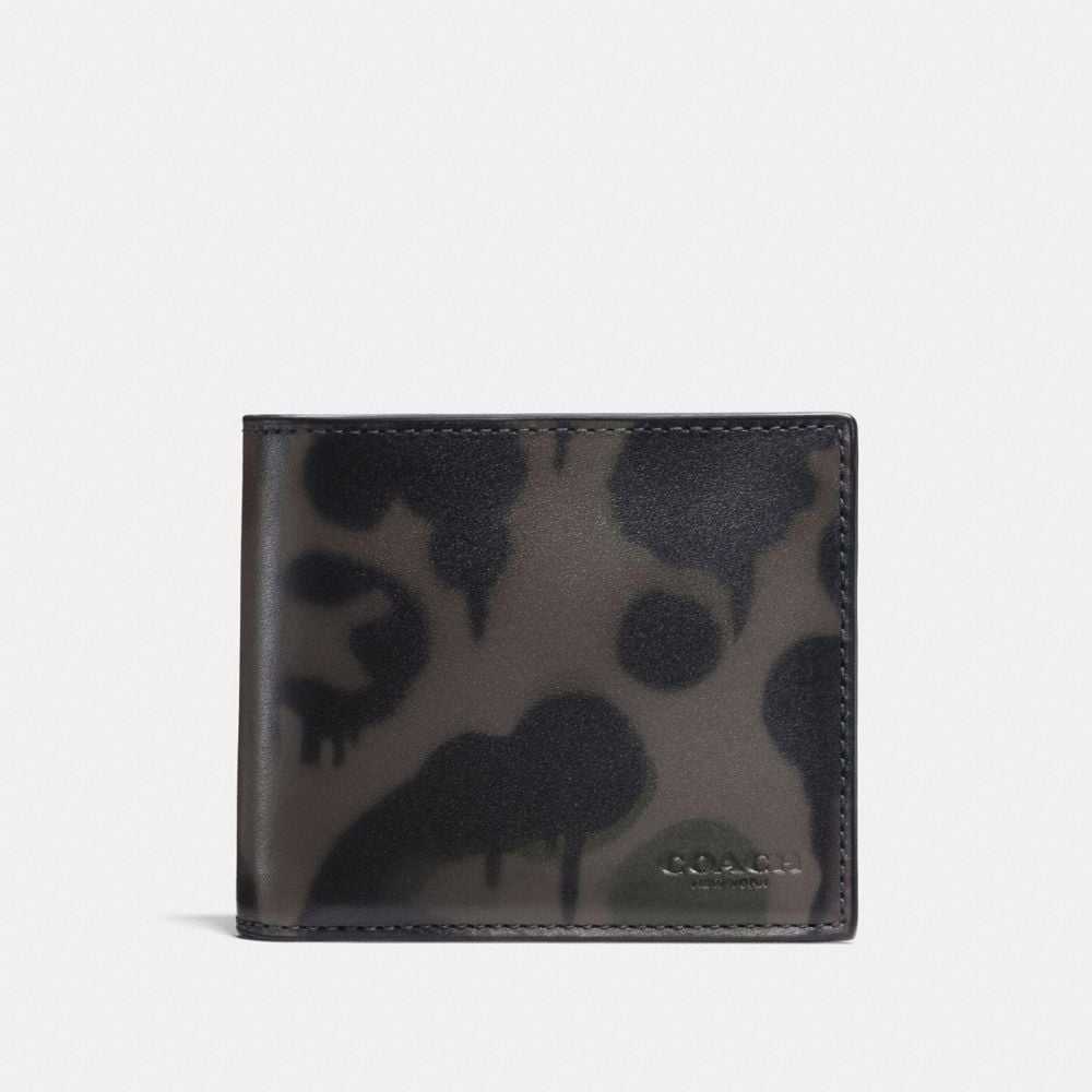 Coach 3-In-1 Wallet With Wild Beast Print