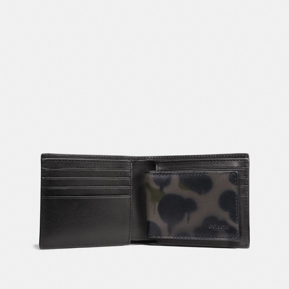 Coach 3-In-1 Wallet With Wild Beast Print Alternate View 1