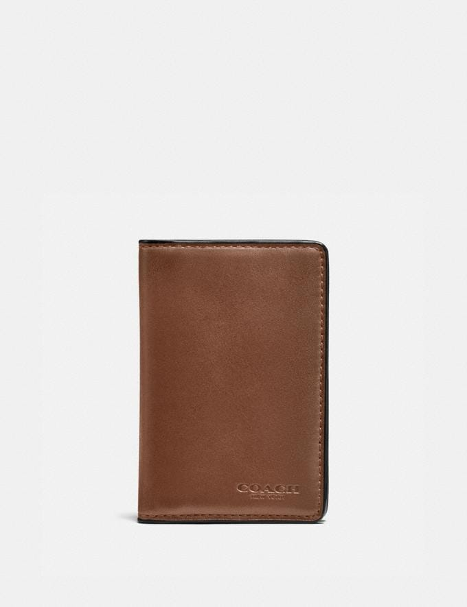 Coach Card Wallet Dark Saddle Gifts For Him Bestsellers
